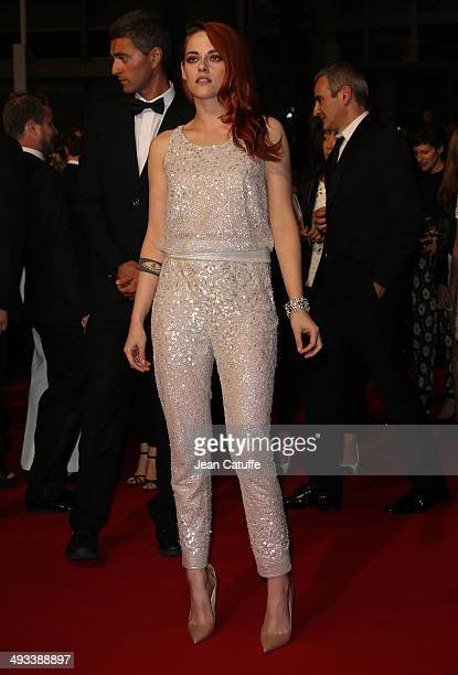 Kristen Stewart attends 'Clouds Of Sils Maria' premiere during the 67th Annual Cannes Film Festival on May 23 2014 in Cannes France