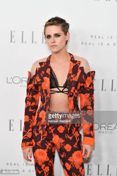Kristen Stewart attends ELLE's 24th Annual Women in Hollywood Celebration presented by L'Oreal Paris Real Is Rare Real Is A Diamond and CALVIN KLEIN...