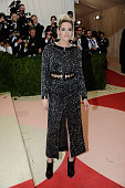 Kristen Stewart attends 'Manus x Machina Fashion In An Age Of Technology' Costume Institute Gala at Metropolitan Museum of Art on May 2 2016 in New...