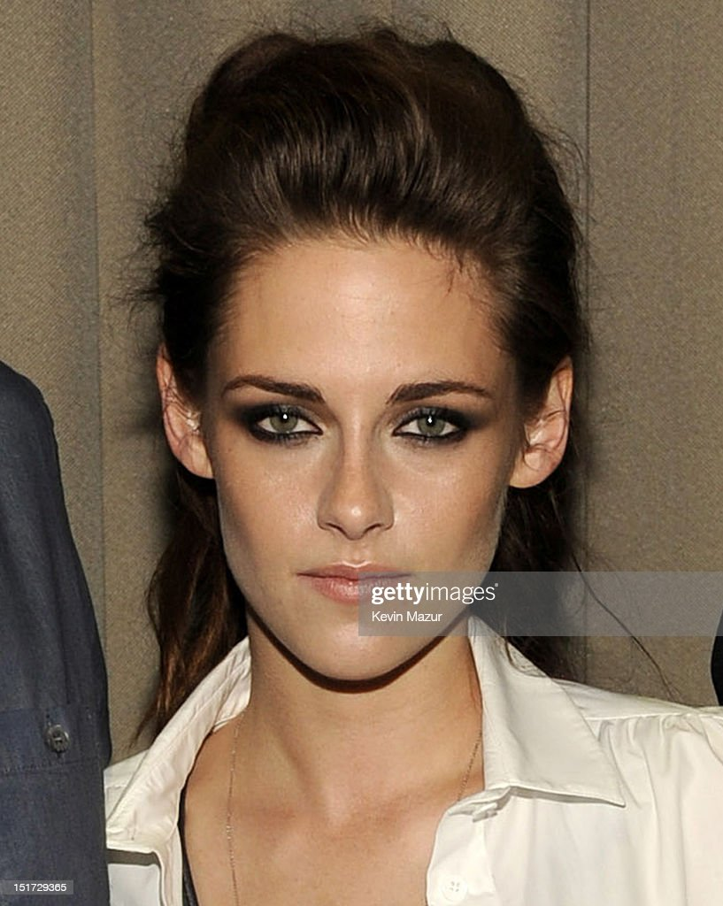 <a gi-track='captionPersonalityLinkClicked' href=/galleries/search?phrase=Kristen+Stewart&family=editorial&specificpeople=2166264 ng-click='$event.stopPropagation()'>Kristen Stewart</a> attends 'On The Road' New York Screening at Disney Park Avenue on September 10, 2012 in New York City.