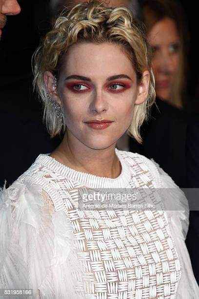 Kristen Stewart attends 'Personal Shopper' premier during The 69th Annual Cannes Film Festivalon May 17 2016 in Cannes