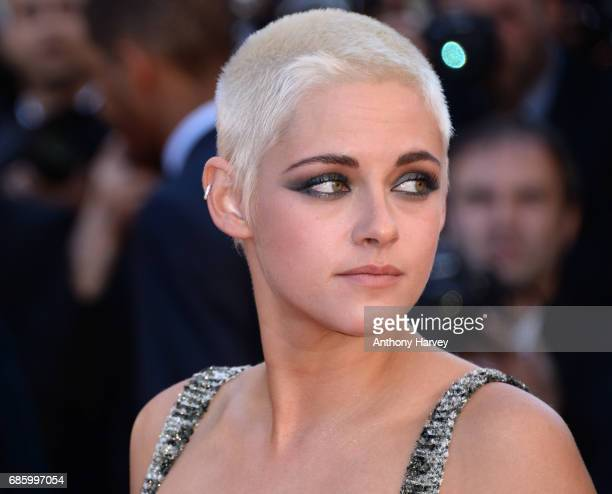 Kristen Stewart attends the '120 Battements Par Minutes ' screening during the 70th annual Cannes Film Festival at Palais des Festivals on May 20...