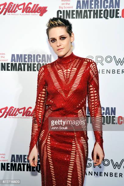 Kristen Stewart attends the 31st American Cinematheque Award Presentation Honoring Amy Adams Presented by GRoW @ Annenberg Presentation of The 3rd...