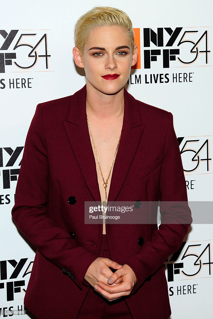 Kristen Stewart attends the 54th New York Film Festival - 'Certain Women' Premiere at Alice Tully Hall on October 3, 2016 in New York City.