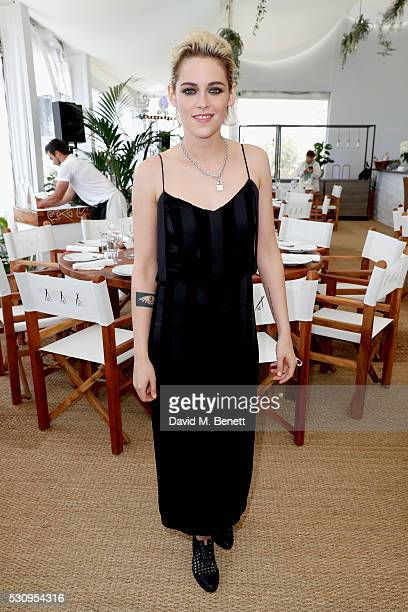 Kristen Stewart attends the Amazon Studios 'Cafe Society' press luncheon during the 69th annual Cannes film festival on May 12 2016 in Cannes France
