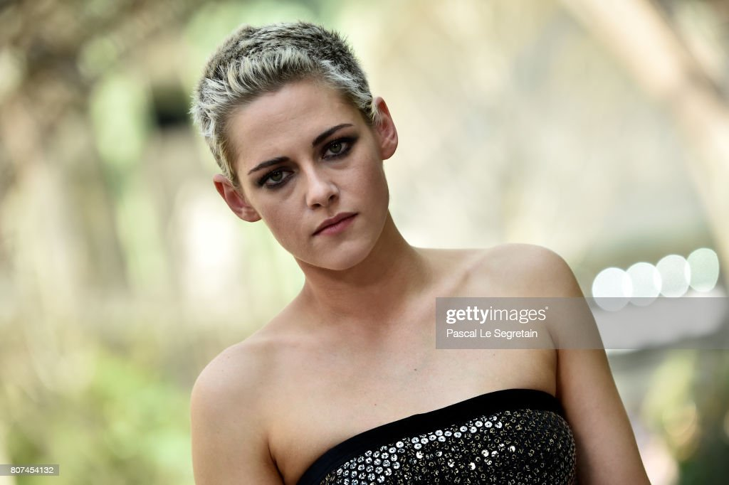 Kristen Stewart attends the Chanel Haute Couture Fall/Winter 2017-2018 show as part of Haute Couture Paris Fashion Week on July 4, 2017 in Paris, France.