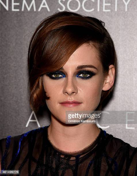 Kristen Stewart attends The Cinema Society with Montblanc and Dom Perignon screening of Sony Pictures Classics' 'Still Alice' at Landmark's Sunshine...
