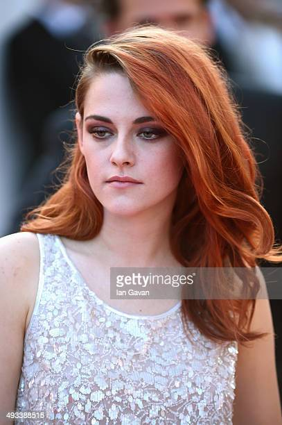 Kristen Stewart attends the 'Clouds Of Sils Maria' premiere during the 67th Annual Cannes Film Festival on May 23 2014 in Cannes France