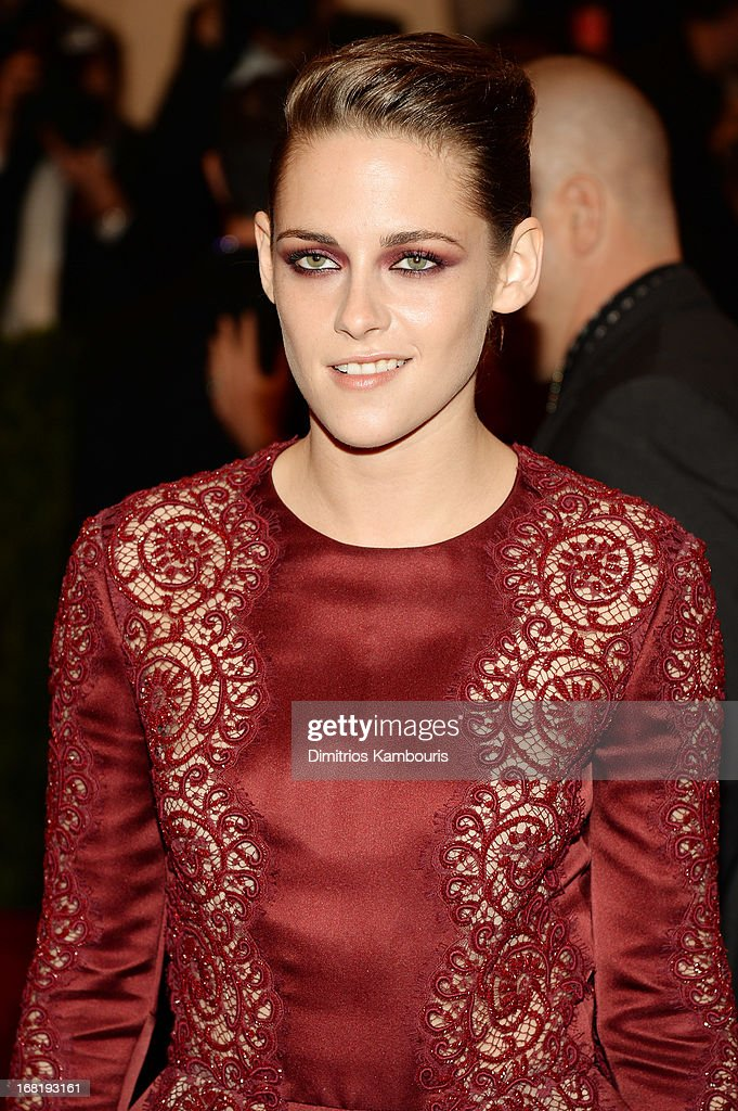 Kristen Stewart attends the Costume Institute Gala for the 'PUNK: Chaos to Couture' exhibition at the Metropolitan Museum of Art on May 6, 2013 in New York City.