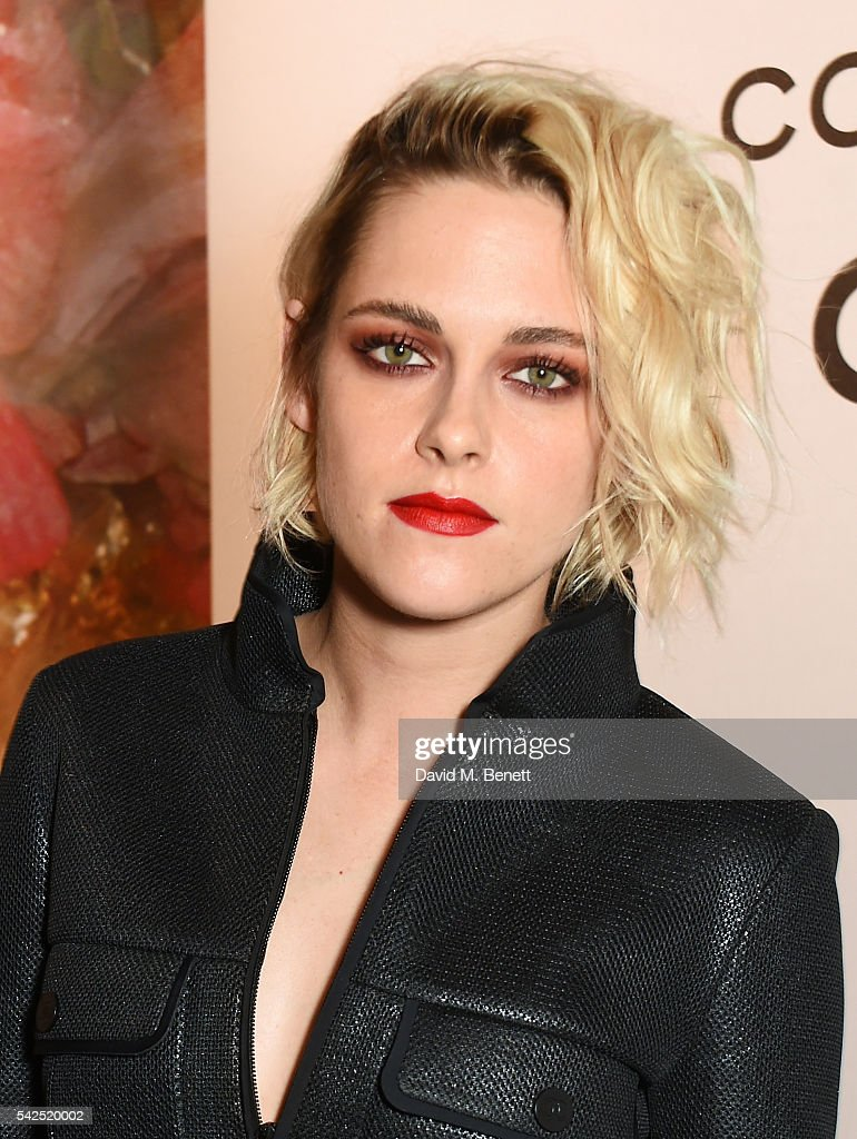 Kristen Stewart attends the launch of Lucia Pica's makeup collection for Chanel at Somerset House on June 23 2016 in London England
