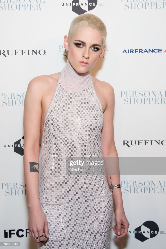 Kristen Stewart attends the 'Personal Shopper' New York Premiere at Metrograph on March 9, 2017 in New York City.