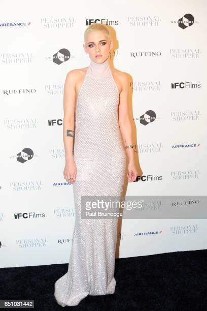 Kristen Stewart attends the 'Personal Shopper' New York Premiere at Metrograph on March 9 2017 in New York City