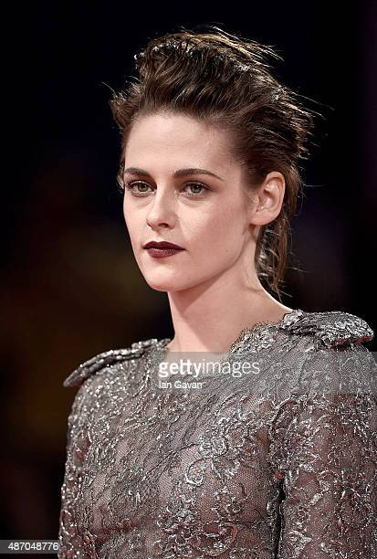 Kristen Stewart attends the premiere of 'Equals' during the 72nd Venice Film Festival at the Sala Grande on September 5 2015 in Venice Italy