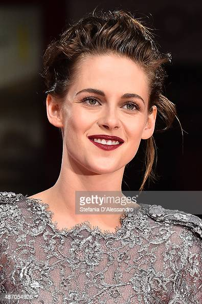 Kristen Stewart attends the premiere of 'Equals' during the 72nd Venice Film Festival at Sala Grande on September 5 2015 in Venice Italy