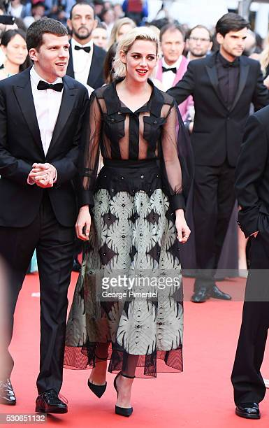 Kristen Stewart attends the screening of 'Cafe Society' at the opening gala of the annual 69th Cannes Film Festival at Palais des Festivals on May 11...