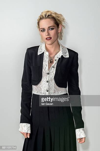 Kristen Stewart attends the Vanity Fair And Chanel Dinner during The 69th Cannes Film Festival at Restaurant Tetou on May 12 2016 in Cannes France