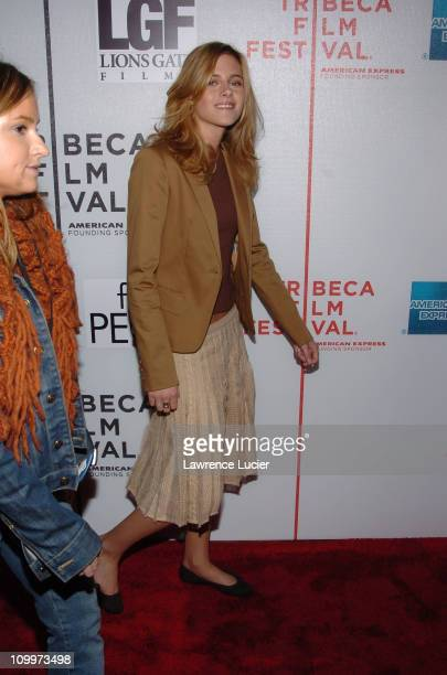 Kristen Stewart during 4th Annual Tribeca Film Festival Fierce People Premiere at Tribeca Performing Arts Center in New York NY United States