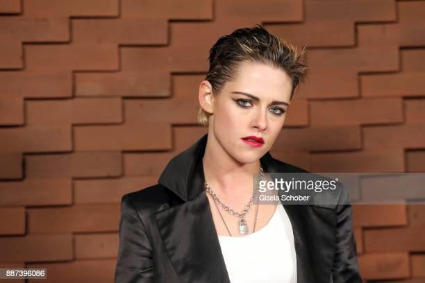 Kristen Stewart during the Chanel 'Trombinoscope' Collection des Metiers d'Art 2017/18 photo call at Elbphilharmonie on December 6 2017 in Hamburg...