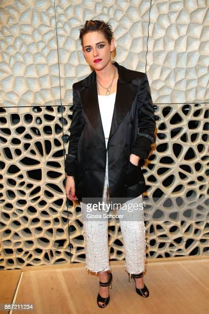 Kristen Stewart during the Chanel 'Trombinoscope' collection Metiers d'Art 2017/18 show at Elbphilharmonie on December 6 2017 in Hamburg Germany