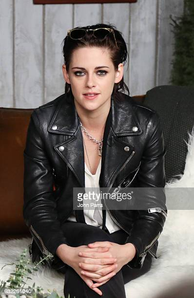 Kristen Stewart from the film 'Come Swim' attends The Hollywood Reporter 2017 Sundance Studio At Sky Strada Day 1 2017 Park City on January 20 2017...