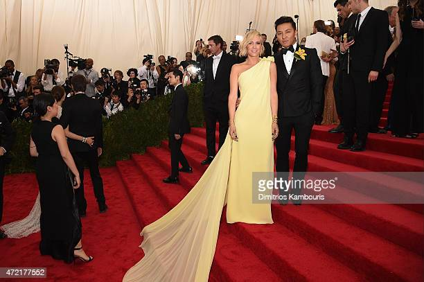 Kristen Wiig and Prabal Gurung attend the 'China Through The Looking Glass' Costume Institute Benefit Gala at the Metropolitan Museum of Art on May 4...