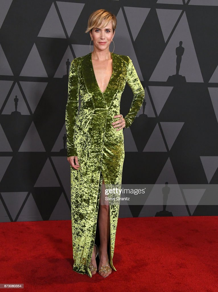 Kristen Wiig arrives at the Academy Of Motion Picture Arts And Sciences' 9th Annual Governors Awards at The Ray Dolby Ballroom at Hollywood & Highland Center on November 11, 2017 in Hollywood, California.