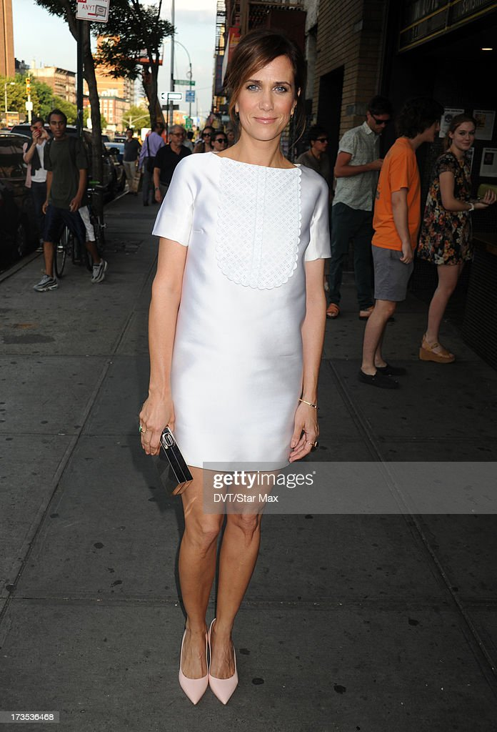 Kristen Wiig as seen on July 15, 2013 in New York City.