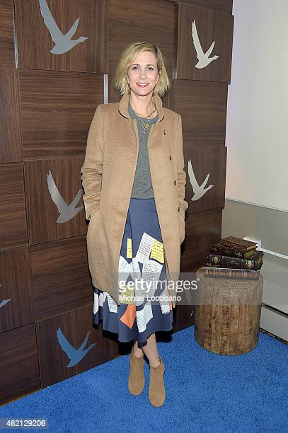 Kristen Wiig at The Diary of a Teenage Girl Cast Party at the GREY GOOSE Blue Door during Sundance on January 24 2015 in Park City Utah