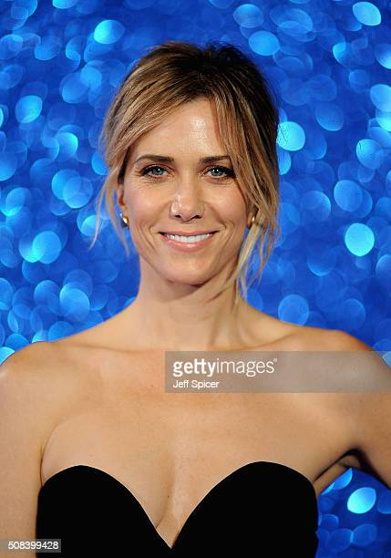 Kristen Wiig attends a London Fan Screening of the Paramount Pictures film 'Zoolander No 2' at Empire Leicester Square on February 4 2016 in London...