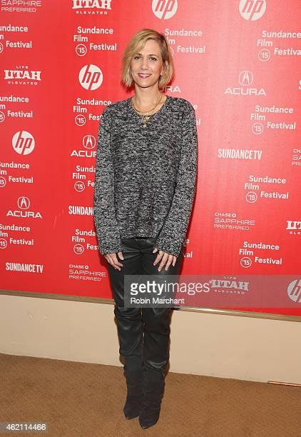 Kristen Wiig attends 'Nasty Baby' Premiere during the 2015 Sundance Film Festival on January 24 2015 in Park City Utah