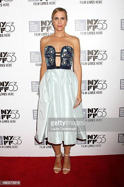 Kristen Wiig attends the 53rd New York Film Festival 'The Martian' Premiere at Alice Tully Hall on September 27 2015 in New York City
