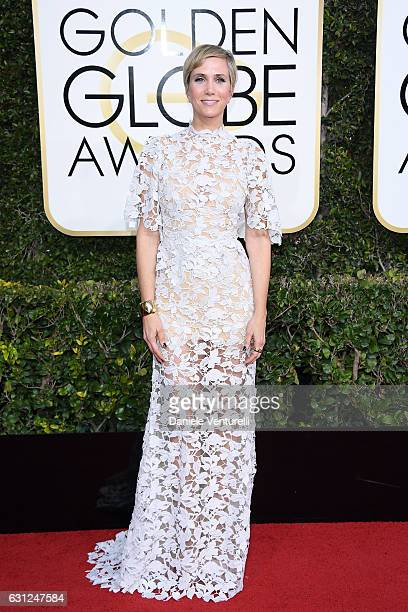 Kristen Wiig attends the 74th Annual Golden Globe Awards at The Beverly Hilton Hotel on January 8 2017 in Beverly Hills California