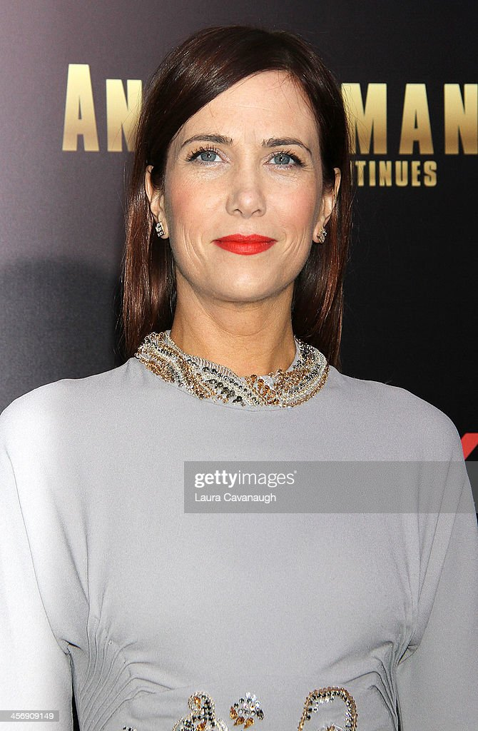 <a gi-track='captionPersonalityLinkClicked' href=/galleries/search?phrase=Kristen+Wiig&family=editorial&specificpeople=4029391 ng-click='$event.stopPropagation()'>Kristen Wiig</a> attends the 'Anchorman 2: The Legend Continues' U.S. premiere at Beacon Theatre on December 15, 2013 in New York City.