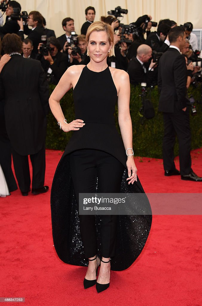 Kristen Wiig attends the 'Charles James: Beyond Fashion' Costume Institute Gala at the Metropolitan Museum of Art on May 5, 2014 in New York City.