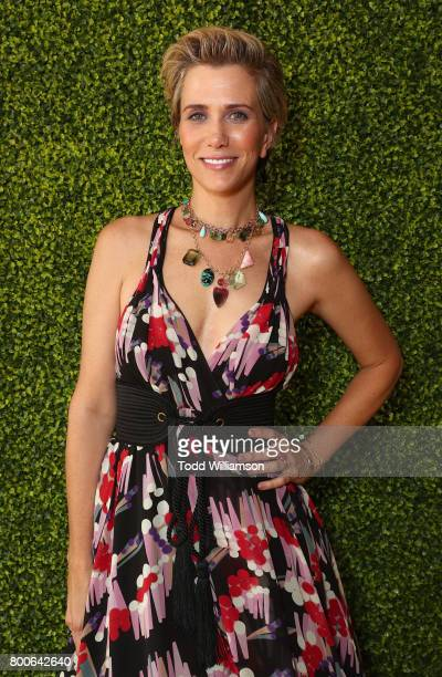 Kristen Wiig attends the Premiere Of Universal Pictures And Illumination Entertainment's 'Despicable Me 3' at The Shrine Auditorium on June 24 2017...