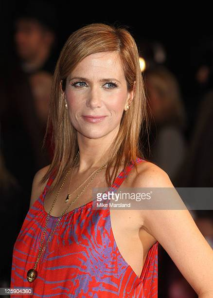 Kristen Wiig attends the world premiere of 'Paul' at The Empire Cinema on February 7 2011 in London England