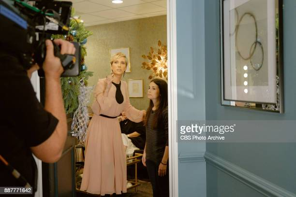 Kristen Wiig checks in from the green room with James Corden during 'The Late Late Show with James Corden' Wednesday December 6 2017 On The CBS...