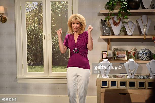 LIVE 'Kristen Wiig' Episode 1711 Pictured Kristen Wiig as Christie Berkie during the 'QVC Auditions' sketch on November 19 2016