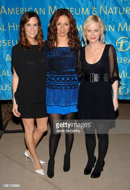 Kristen Wiig Maya Rudolph and Amy Poehler during American Museum of Natural History's 2006 Museum Gala at American Museum of Natural History in New...