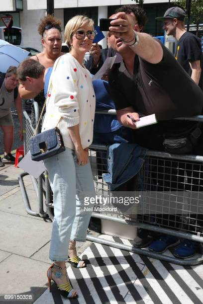 Kristen Wiig seen at BBC Radio 2 on June 21 2017 in London England