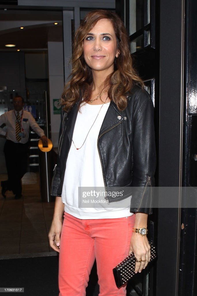 <a gi-track='captionPersonalityLinkClicked' href=/galleries/search?phrase=Kristen+Wiig&family=editorial&specificpeople=4029391 ng-click='$event.stopPropagation()'>Kristen Wiig</a> sighted at BBC Radio 2 on June 20, 2013 in London, England.