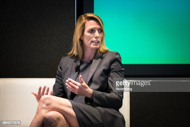 Kristi Kuechler president of FOX Private Investor Center speaks during 'The Future of International Business Deals How to Position for LongTerm...