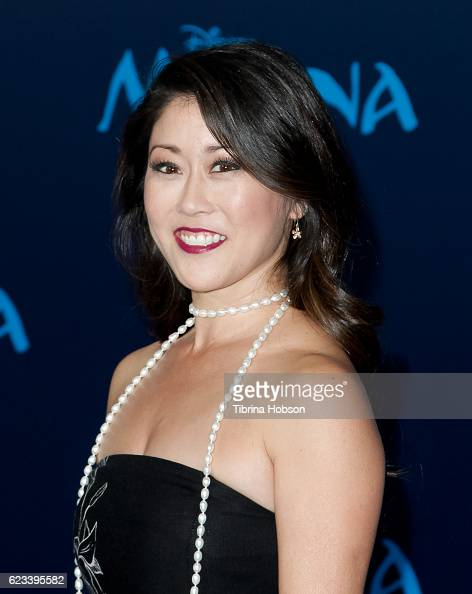 Kristi Yamaguchi attends the premiere of Disney's 'Moana' at AFI FEST 2016 at the El Capitan Theatre on November 14 2016 in Hollywood California
