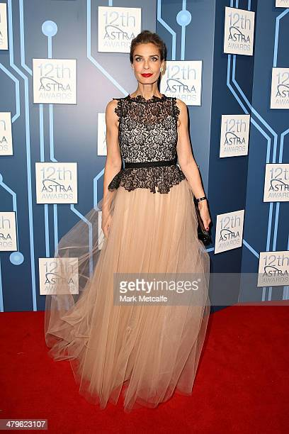 Kristian Alfonso arrives at the 12th ASTRA Awards at Carriageworks on March 20 2014 in Sydney Australia