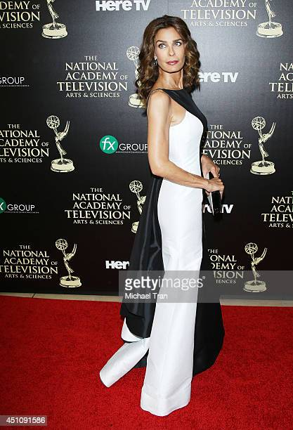 Kristian Alfonso arrives at the 41st Annual Daytime Emmy Awards held at The Beverly Hilton Hotel on June 22 2014 in Beverly Hills California