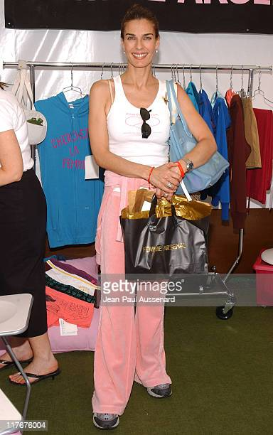 Kristian Alfonso at Femme Arsenal during Silver Spoon Hollywood Buffet Day One at Private Estate in Hollywood California United States Photo by...