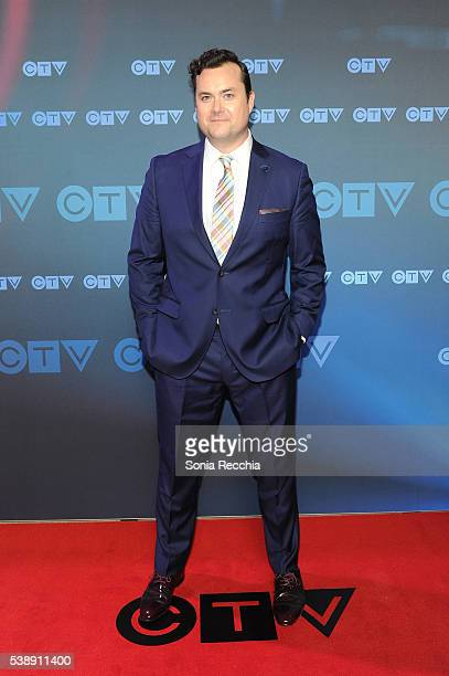 Kristian Bruun attends CTV Upfronts 2016 at Sony Centre for the Performing Arts on June 8 2016 in Toronto Canada
