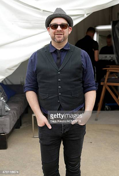 Kristian Bush attends the ACM Party For A Cause Festival at Globe Life Park in Arlington on April 17 2015 in Arlington Texas