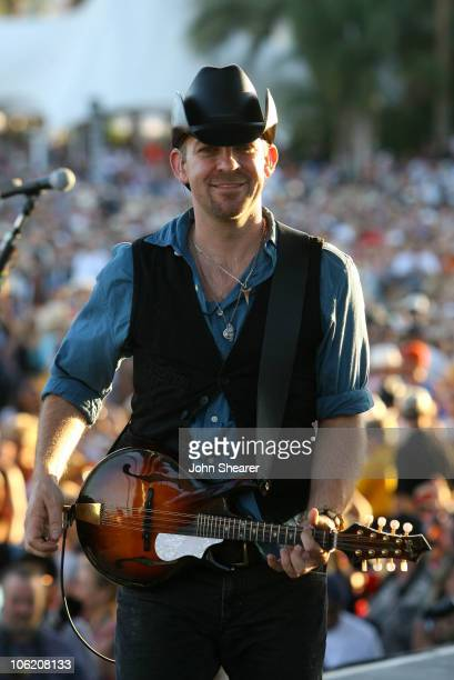 Kristian Bush of Sugarland during The Inaugural Stagecoach Country Music Festival Day 2 at Empire Polo Field in Indio California United States