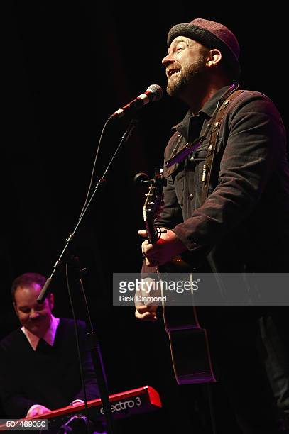Kristian Bush performs during Alex Cooley a Celebration Of Life And Legacy at The Tabernacle on January 9 2016 in Atlanta Georgia